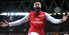 Thierry Henry, Arsenal v Leeds, January 9 2012 - 0