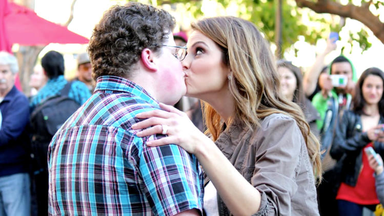 Jesse Heiman and Maria Menounos