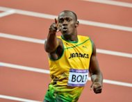 Jamaica's Usain Bolt celebrates after winning the men's 200m final at the London olympics on August 9. Bolt is targeting a spectacular send-off as the Olympic track and field competition draws to a close on Saturday with Jamaica aiming to seal their sprinting supremacy