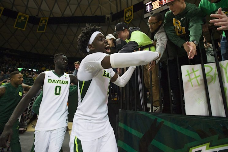 Baylor's first-ever No. 1 ranking could be short-lived (Getty Images).