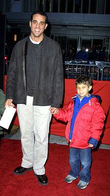 Premiere: Bobby Cannavale and son at the New York premiere of Warner Brothers' Harry Potter and The Sorcerer's Stone - 11/11/2001