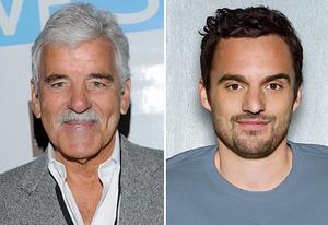 Dennis Farina, Jake Johnson  | Photo Credits: Vivien Killilea/WireImage, Justin Stephens/Fox