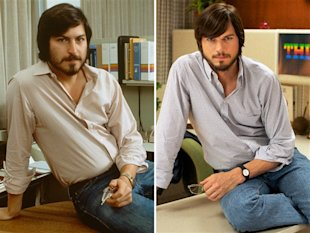 How Ashton Kutcher Saved Steve Jobs' Reputation image Ashton Kutcher as Steve Jobs Sides