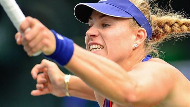 Tennis - Kerber seals final spot at WTA tour year-ender