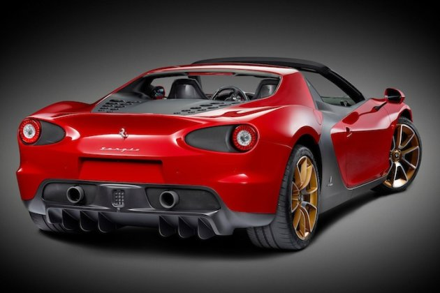 Ferrari Sergio Production photo