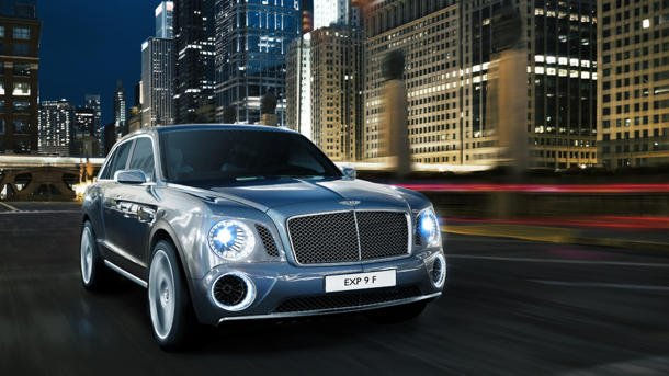 Bentley EXP 9 F SUV Geneva