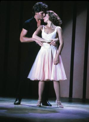 "In this undated file photo provided by Lionsgate Home Entertainment, actors Patrick Swayze, portraying Johnny Castle, and Jennifer Grey, portraying Baby Houseman, are shown in a scene from the film, ""Dirty Dancing."" (AP Photo/Lionsgate Home Entertainment, File) ** NO SALES **"