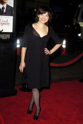 Premiere: Ginnifer Goodwin at the Hollywood premiere of Universal Pictures' In Good Company - 12/6/2004