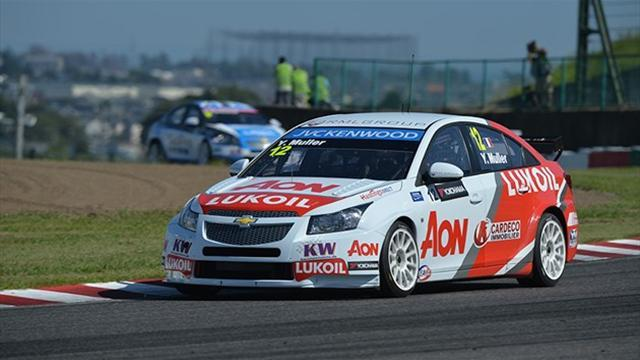 WTCC - Muller leads a close test session