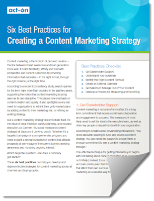 Six Best Practices For Creating A Content Marketing Strategy image Content marketing strategy w page curl 2