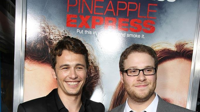 Pineapple Express Premiere LA 2008 Seth Rogen James Franco