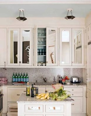 Mirrored Cabinet Doors
