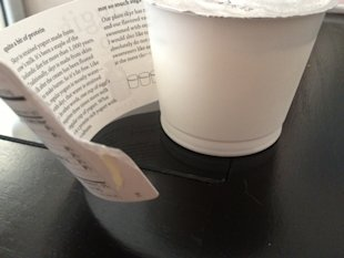 My Yogurt Tells Me Stories: Content Marketing Beyond The Sale image label content marketing