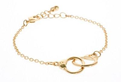 "Handcuff ""Ditsy"" bracelet"