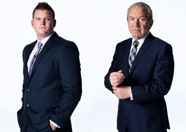 The Apprentice winner, Ricky Martin, Alan Sugar