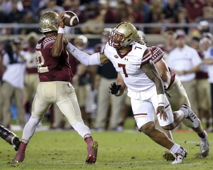 Harold Landry leads Boston College and FBS in sacks this season with 15.