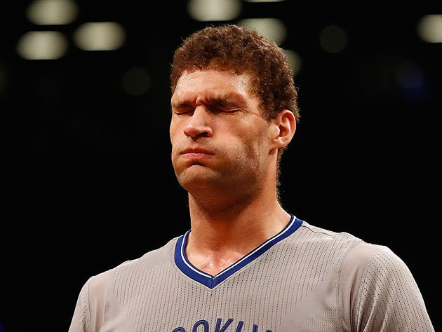 Brook Lopez has seen some stuff. He also hasn't seen some stuff. (Getty Images)