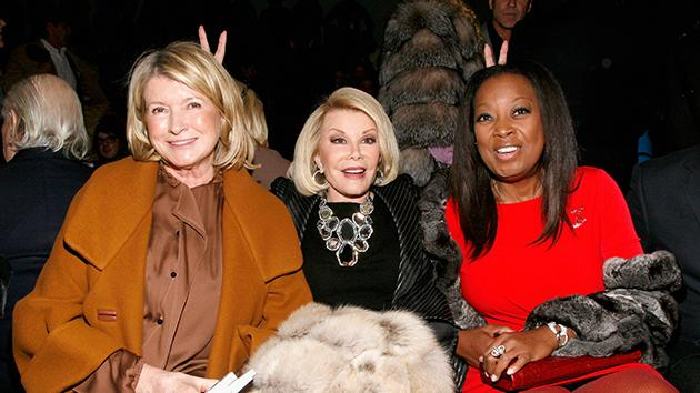 Martha Stewart, Joan Rivers, Star Jones