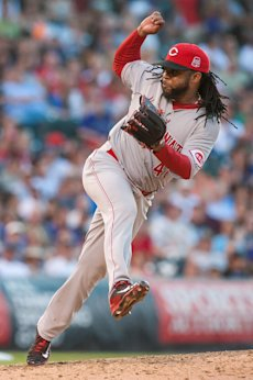 Johnny Cueto gives the Royals a frontline starter. (Getty Images)