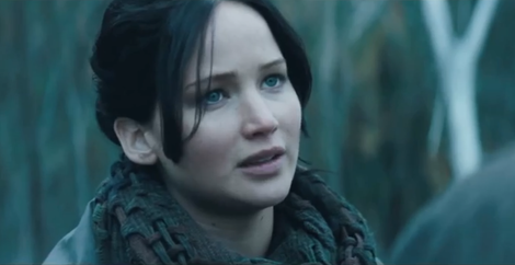 Jennifer Lawrence in 'Hunger Games'