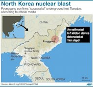The Punggye-ri nuclear test site in North Korea. North Korea has resumed activity at a nuclear site following its internationally condemned bomb test, a US think tank said Wednesday, amid fears that the regime will carry out more explosions