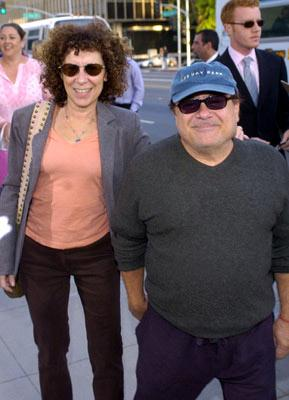 Premiere: Rhea Perlman and Danny DeVito at the Beverly Hills special screening of Lions Gate Films' Fahrenheit 9/11 - 6/8/2004