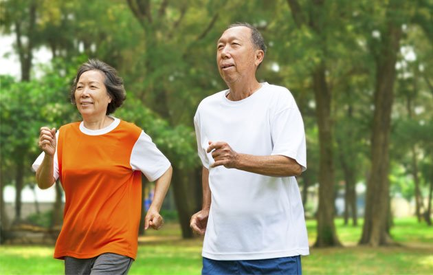 Keeping physically active can help you to be disability-free and as healthy as possible in your senior years. (Thinkstock photo)