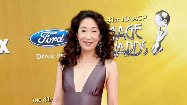 Sandra Oh arrives at the 41st NAACP Image awards held at The Shrine Auditorium on February 26, 2010 in Los Angeles, California.