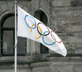 Olympic Ring Glitch Mars Sochi Opening Ceremony #SochiProblems image olympic flag