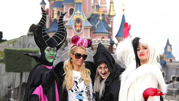 Paris Hilton Disneyland