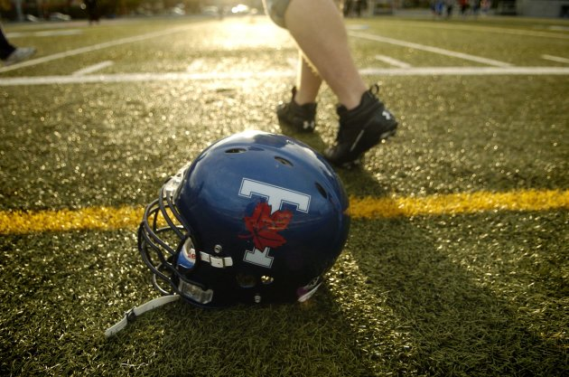 U of T Varsity Blues football (The Canadian Press)