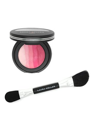 Laura Geller Ombre Baked Blush in Pink Blossom