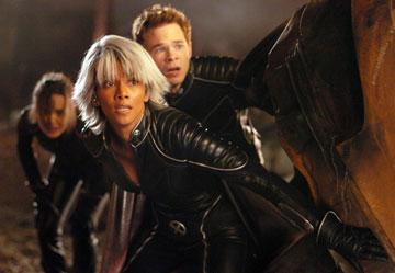 Halle Berry as Storm and Shawn Ashmore as Iceman in 20th Century Fox's X-Men: The Last Stand