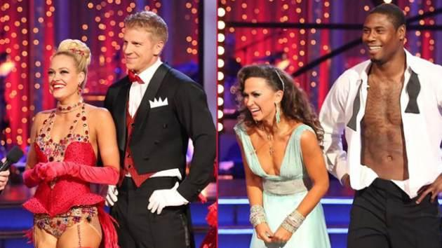 Peta Murgatroyd and Sean Lowe, Karina Smirnoff and Jacoby Jones -- ABC