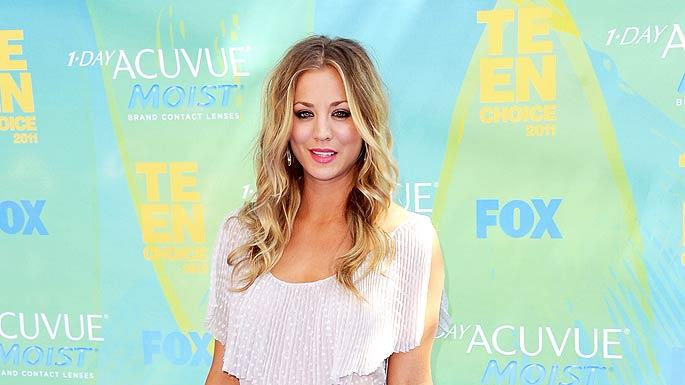 Kaley Cuoco Teen Choice Awards