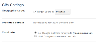 Google Webmaster Tools: Best Practices for Boosting SEO image 4.change crawl rate