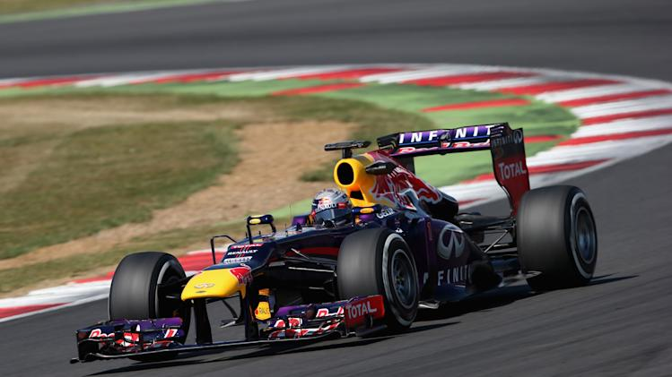 F1 Young Driver Tests - Silverstone: Day Three