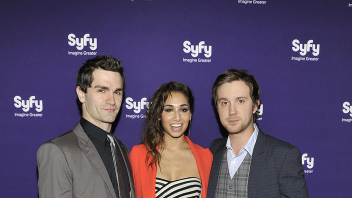 Sam Witwer, Meaghan and Sam Huntington