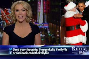 Megyn Kelly Says Her 'White Santa' Critics Are Race-Baiting