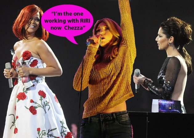 nicola roberts and rihanna