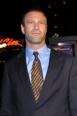Aaron Eckhart at the LA premiere of Paramount's Paycheck