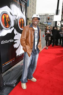 Dominic Daniel at the Los Angeles premiere of DreamWorks Pictures' Disturbia