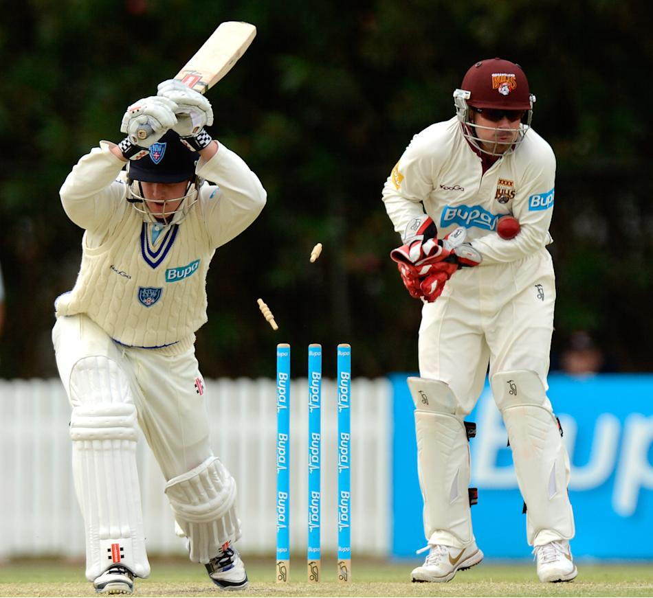 Sheffield Shield - Bulls v Blues: Day 2
