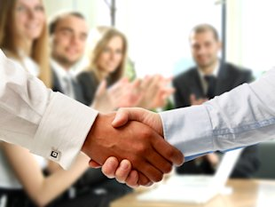 How to Survive The Big Sales Meeting image thehandshake