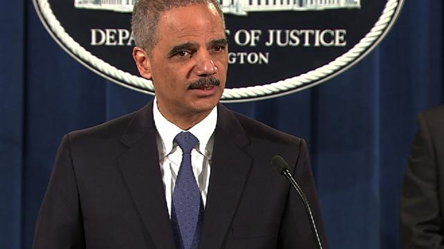 "Holder: Alleged S&P conduct at ""heart of the recent financial crisis"""