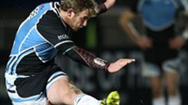 Rugby - Glasgow knocked out