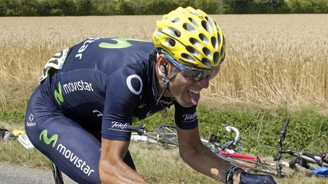 Vuelta a España - Valverde: Nibali is getting unfair advantage
