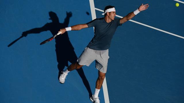 Australian Open - Del Potro realistic about chances