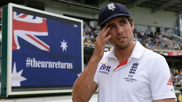 England captain Alastair Cook admits his side were totally outplayed by Australia