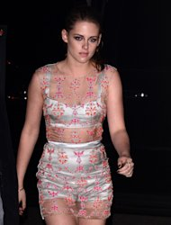 Kristen Stewart at the New York premiere of 'On The Road'.